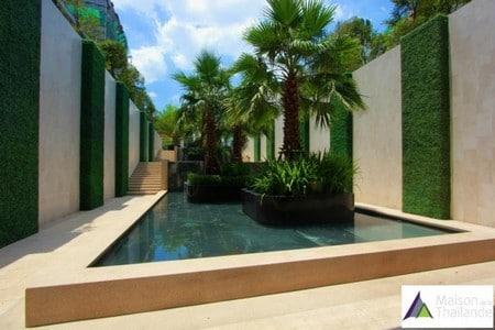 Condo Bangkok avec la maison de la Thailande