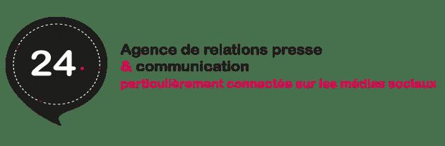 Vingt Quatre : agence de relations presse