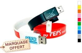 Clé USB publicitaire personnalisable à prix discount