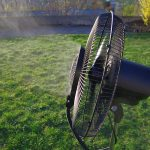 O'FRESH 072 Ventilateur brumisateur extérieur 150 cm