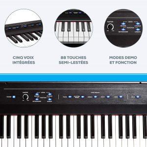 Piano numérique Alesis Recital 88 touches